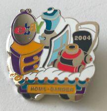 Ebay Live 2004 Lapel Pin Home & Garden Category Ebayana Ad Souvenir