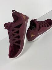 Jordan Deca Fly Prem HC GG Sneakers Casual Jordans Maroon Girls - Size 9.5 M