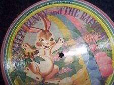 1950s RARE A Sleepy Bunny and the Rainbow Picture Disc N102A - 78