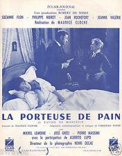 ▬►1963 Synopsis La Porteuse de pain Suzanne Flon_Philippe Noiret_Jeanne Valérie
