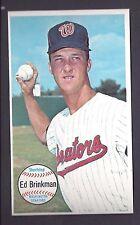 1964 Topps Giants #27 Ed Brinkman Washington Senators NM to NM Plus