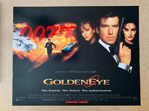 Goldeneye Original Set Of 9 UK 14 x 11 Lobby Cards James Bond 007