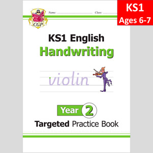 KS1 Year 2 English Targeted Practice Book Handwriting Ages 6-7 CGP