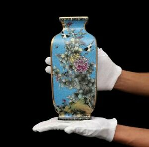 Qing Dynasty Qianlong Enamel Chinese Vase Porcelain China Antique Reproduction
