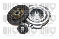 Clutch Kit 3pc (Cover+Plate+Releaser) fits RENAULT TRAFIC P6 2.1D 80 to 89 QH