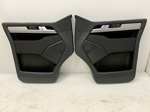 VW T6 Transporter Caravelle Door Cards L+R Comfortline Ambient Lighting Black