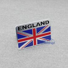 Aluminum Great Britain England Flag Side Rear Emblem Badge Decal Sticker