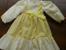 Vintage Home-Made Doll Dress