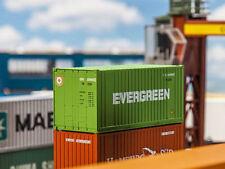 1:87 Art 40/' Hi-CUBE container Evergreen FALLER Mondi in miniatura h0 180846