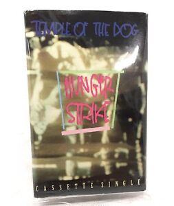 Temple Of The Dog : Hunger Strike PROMOTIONAL CASSETTE Single 91 PROMO Pearl Jam