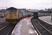 PHOTO  INVERNESS RAILWAY STATION 1983