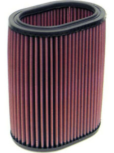 K&N Oval Air Filter FOR PLYMOUTH RELIANT 2.6L L4 CARB (E-1004)