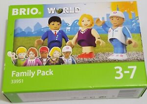 Brio World Family Pack 33951 New Figures Toys 3 Pack