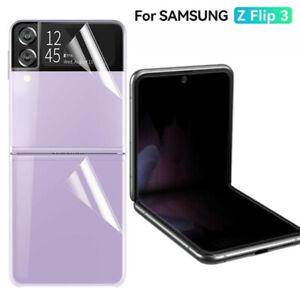 Hydrogel Screen Protector Film HD Clear 4 in 1 For Samsung Galaxy Z Flip 3 5G
