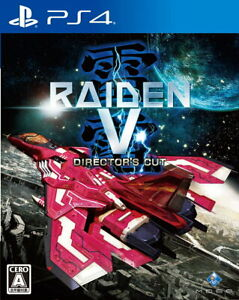 Raiden V Director's Cut Sony Playstation 4 PS4 Video Games From Japan NEW