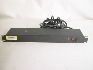 Hubell rack mount power strip 10 outlet 15 amp 125 volt  HPWPWR