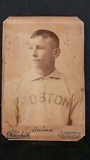 1890 Studio Cabinet JOE QUINN - BOSTON Club Players League - Great image
