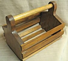 Sturdy Handmade Wooden Carry-All