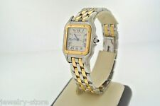 Cartier Panthere 18kt Yellow Gold & Stainless Steel Ladies Watch, Swiss Made