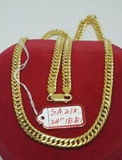 GoldNMore: 21K Gold Necklace Chain 18.81G 24 inches
