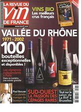 VIN DE FRANCE N°546 VALLEE DU RHONE / SUD-OUEST : CEPAGES RARES / VINS BIO
