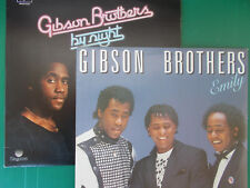 LP GIBSON BROTHERS  BY NIGHT GATEFOLD 1977+++EMILY NUOVISSIMI LOOK