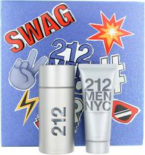 212 Men NYC By Carolina Herrera For men Set: EDT + After Shave Gel New
