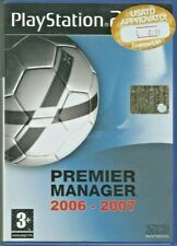 Premier manager 2006-2007 - Ps2 - Playstation 2 - Ita - Pal
