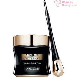 Lancome Absolue L'Extrait Ultimate Eye Contour Ritual 0.26oz / 15ml New In Box