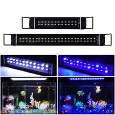 10'' 17'' Aluminum Aquarium Fish Tank Lighting Aquatic Plants Growing LED Lamp
