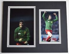 Ray Clemence Signed Autograph 10x8 photo display Liverpool Football AFTAL & COA