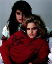 Phoebe Cates Jennifer Jason Leigh Signed 8x10 Picture Autographed Photo with COA