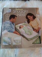 New Baby Delight Deluxe Snuggle Nest Infant Sleeper Portable Light Sounds Travel