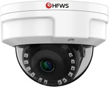 Hfws Dome Security Camera Outdoor Hd Wired Surveillance Waterproof Night Vision