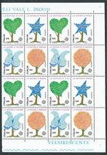 1986 ITALIA BLOCCO EUROPA SALVAGUARDIA DELLA NATURA QUARTINA MNH ** - ED-3