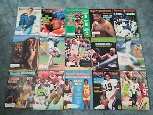 Sports Illustrated Magazine Lot of 15 - All From The Year 1985 Holmes, Bears