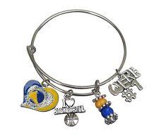 Golden State Warriors Bracelet, Warriors Jewelry, NBA Basketball Gift for Her