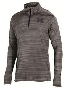 "Michigan Wolverines NCAA Champion ""Full Blitz"" Men's 1/4 Zip Pullover Shirt"