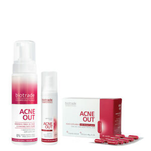 Oily Skin Control Acne Out Set Of 3 Products With FREE GIFT Acne Out Hydroactive
