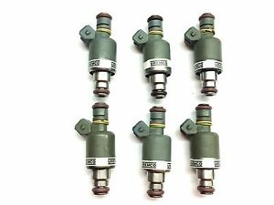 SET OF 6 ROCHESTER FUEL INJECTOR 1989-1993 CHEVY-OLDS-PONTIAC 3.1L 3.4L V6