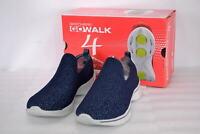 Women's  Skechers 14918/NVGY Go Walk 4-GiftedSlip on Shoes  Navy/Grey