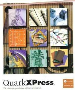 QuarkXpress 4.1 Upgrade MAC CD graphics illustration word processing program!