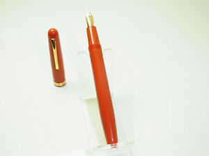 NR MINT Italian OMAS 620 Pistonfiller Fountain Pen Flexy 14ct Gold M Nib  F to B