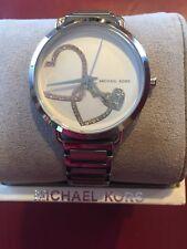Michael Kors Women's Mk 3823 'Portia' Quartz Casual Watch, Color:Silver-Tone