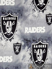 NFL Oakland Raiders Licensed Fleece Fabric NL-NFL-59-OT