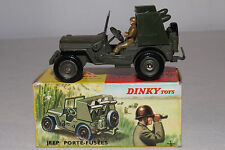 1960's French Dinky #828 Rocket Carrier Jeep, Nice with Original Box, Lot #12