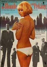 BLONDE FROM PEKING LA BLONDE DE PEKIN German A1 movie poster MIREILLE DARC
