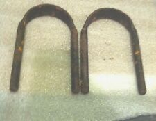 Fix It ++ nos - VINTAGE OLD  2 (two)  U  -- CLAMP Tops