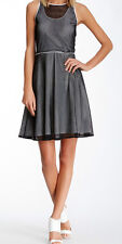 Marc New York - Mesh Fit & Flare Dress - RRP US$118 - Size 12 - BNWT