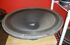 cerwin vega 154 EB woofer. works and plays music. tested!